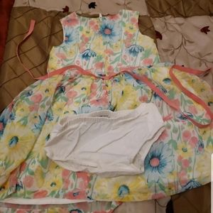 Spring and Easter special occasion dress 24m for b